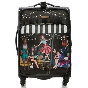 Nicole Lee Travel Luggage House Party Carry on Bag